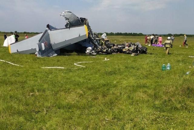 При крушении самолета вКузбассе погибли 9 человек